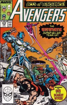 The Avengers #313 - Thieves Honor (Issue)