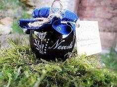 Gravírovaný pohárik, jahodový džem, Ďakujeme / kikaso - SAShE.sk - Handmade Darčeky pre svadobčanov Glass Engraving, Handmade, Bags, Handbags, Hand Made, Bag, Totes, Handarbeit, Hand Bags