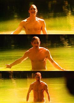 Hey Sookie! Where've you been? Come, come play with me, it's wonderful here. I am Ægir, god of the sea, and you are Rán, my sea goddess.