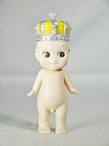 DREAMS Minifigure Sonny Angel CROWN Series 2007 Special Collectible Figure Silver Crown with Yellow Color