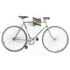 Bicicleta de madera roble de suspensión Iceberg por Woodstick