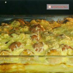 Cartofi cu chifteluțe la cuptor- o rețetă extrem de gustoasă, de te lingi pe degete! - savuros.info Romanian Food, Hawaiian Pizza, Lunch Box, Food And Drink, Tasty, Cooking, Verona, Food, Recipes