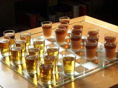 Outlander Kitchen (Jamie and Frank play drunken checkers.)