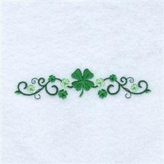 Irish clover line Tribal Tattoos, Tattoos Skull, Celtic Tattoos, Body Art Tattoos, Sleeve Tattoos, Zodiac Tattoos, Irish Symbol Tattoos, Tatoos, Vine Tattoos