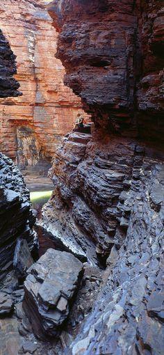 Oliver Strewe: Weano Gorge, The Pilbara, Karijini National Park, Western Australia. Australia Photos, Australia Travel, Western Australia, Best Vacations, Vacation Destinations, Commonwealth, Westerns, Travel Sights, Travel Channel