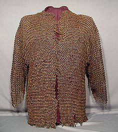 Antique 16th-17th c. Turkish Ottoman Armor Chain Mail