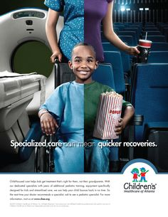 Children's Healthcare of Atlanta - Pediatric Difference by Jeremy Estroff, via Behance