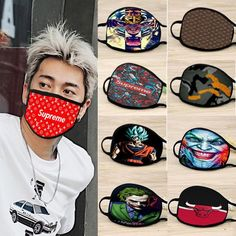 Pack Of 100 anti pollution customized face masks (one hundered pieces of face mask) Mouth Mask Fashion, Respirator Mask, Unisex, Daily Wear, Ultra Violet, One Size Fits All, New Product, Really Cool Stuff, Face Masks
