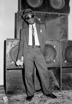 Youthman Promotion Sound System Handsworth Birmingham 1986. Photo © Wayne Tippetts