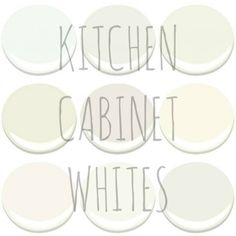 CHOOSING A WHITE FOR YOUR KITCHEN