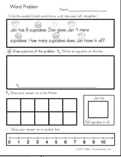 - Word Problems within 10 FREEBIE - Solving math word problem using multiple strategiesFREEBIE - Solving math word problem using multiple strategies Math Story Problems, Word Problems, 2 Kind, Math Problem Solving, Second Grade Math, Grade 1, Math Words, Math Strategies, Primary Maths