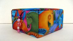 Laurel Burch fabric covered jewelry box keepsakes by hazelgibbs