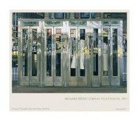 Póster Richard Estes. Cabinas telefónicas, 1967  68 x 90 cm. 9.70 € http://tienda.museothyssen.org/es/exposiciones/hiperrealismo-1967-2012/poster-cabinas-telefonicas.html