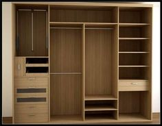 Dressing Room Design for Inspiration You Wardrobe Door Designs, Wardrobe Design Bedroom, Bedroom Furniture Design, Closet Designs, Closet Bedroom, Wardrobe Cabinets, Wardrobe Doors, Wardrobe Closet, Built In Wardrobe
