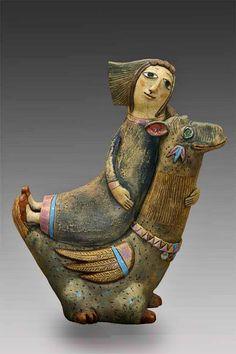 Galina-Bulganin-whimsical-sculpture