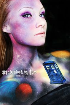 Madeulook by lex face paint check her out c: