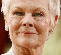 Dame Judi Dench is so beloved by the public her strongly-worded scenes always prompt complaints, says BBFC Old Age Makeup, 2000s Music, Nasolabial Folds, Judi Dench, Eye Wrinkle, Anti Aging Tips, Interesting Faces, Actors, Elder People