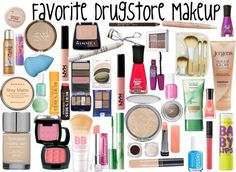 """Favorite DrugStore Makeup"" by s-cassidy-g on Polyvore"