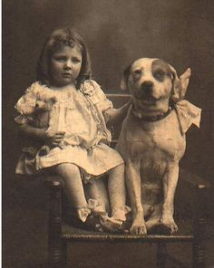"Did you know? For many years (in the late 1800′s and into the early 1900′s) in America, Pit Bulls were known as ""The Nanny Dog"" and were often in charge of babysitting the children. If you wanted your children kept safe, you got a Pit Bull because they are so loyal and protective."