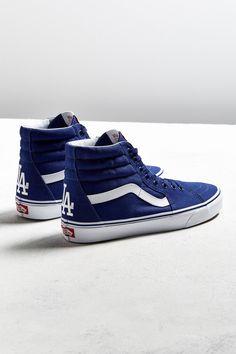Slide View: 1: Vans MLB Los Angeles Dodgers Sk8-Hi Sneaker