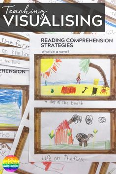 Teaching Reading Comprehension Strategies - Visualising. Printables and whole class teaching ideas | you clever monkey