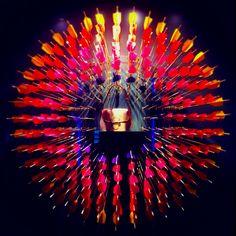 Louis Vuitton window display.