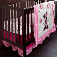 Minnie Mouse Crib Bedding Set - Personalizable | Mickey & Friends | Girls | Baby | Disney Store