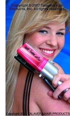 Split Ender Hair Split Ends Trimmer (PINK) + Miracle Silk Restoration Treatment