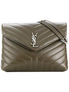 saintlaurent  bags  shoulder bags  leather   Green Bag 09142bde52734