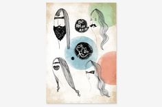 """The group - Art Print 8"""" x 10"""" 
