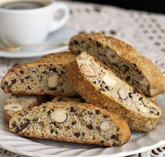 ***Cocoa Nib & Roasted Hazelnut Biscotti/ christinamarsigliese.com