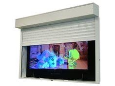 outdoor tv outdoor tv security cabinet