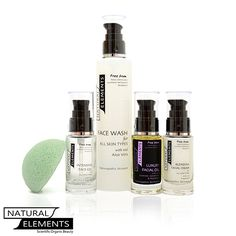 Natural Elements - WOW Original Luxury Plus Kit - for mature skin [ note : Blending Cream is replaced by the richer Rejuvenating Face Cream], £59.99 (http://www.naturalelementsskincare.com/wow-original-luxury-plus-kit-for-mature-skin-note-blending-cream-is-replaced-by-the-richer-rejuvenating-face-cream/)