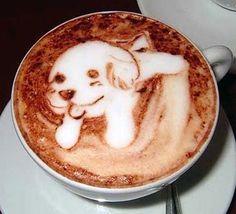 A Puppy Latte!! ohmygooooodness