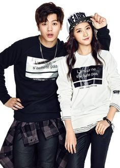 BTOB & Kim Sae Ron Cozy Up in Jackets for 'TBJ' F/W 2015!   Koogle TV