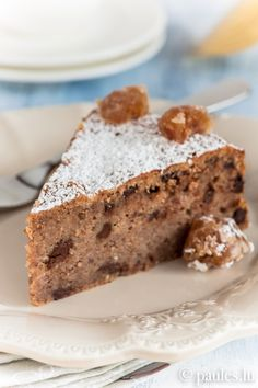 İdeen Easy Cake Maronitas with chocolate. A dreamlike (gluten-free) seduction maroniti . Big Chocolate, Chocolate Lovers, Sweet Pastries, Cakes And More, Banana Bread, Bakery, Deserts, Good Food, Food And Drink