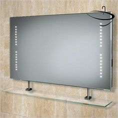Hib bathroom mirrors globe 60 mirror 80 x 60 x for Miroir 50 x 80