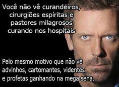 Médicos World Mythology, Hugh Laurie, John Travolta, House Of Cards, Atheist, Self Esteem, Drugs, Humor, Wisdom