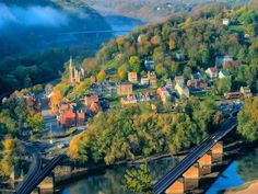 The Town of Harpers Ferry If you love history and adventure then you will satisfy your craving here in the historical town of Harpers Ferry. Visit the John Brown Wax Museum to find out more about the town's history, go on the thrilling Ghost Tours of Harpers Ferry or have an exhilarating time at River Riders where you can go rafting, canoeing, fishing and zip lining.