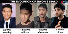 What's your ideal amount of Siwon scruff? See the beard in all its glory in 'She Was Pretty'