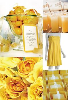 Pink Swan Events - Yellow Inspiration (www.PinkSwanEvents.com)