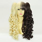 Vanilla Chocolate Curly Pigtails 50cm Sweet L... – USD $ 49.99