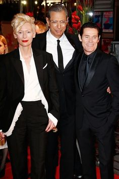 Tilda Swinton | 10 Women Who Could Teach Guys A Thing Or Two About Wearing A Suit