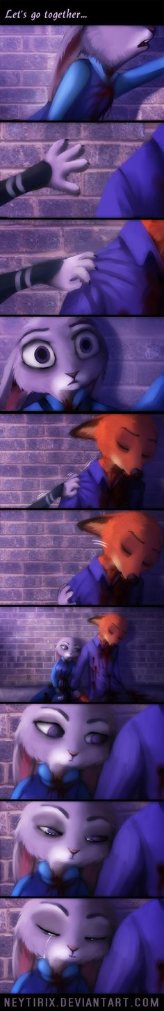 Let's go together... (Zootopia Fan-comic) by Neytirix.deviantart.com on @DeviantArt