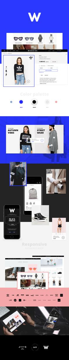 Woodies.czOnline store / E-shop Art direction / UI / UX - Jakub Sodomka       Front-end development - Superkoderi