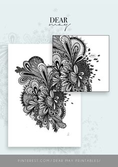 Mandala Wall Art No. 1 ⋆ Mandala Print ⋆ Black and White Print ⋆ Wall Decor ⋆ Boho Chic ⋆ Minimalist Design ⋆ Digital Download ⋆ Printable  ⋆ Dear May Printables Mandala Printable, Wall Decor, Wall Art, As You Like, Minimalist Design, Wall Prints, Boho Decor, Decorating Your Home, Boho Chic