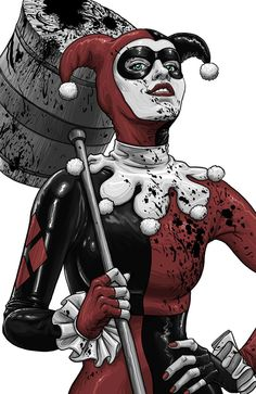 Harley Quinn by Mike Walton