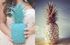 Um abacaxi todo coloridinho :-)