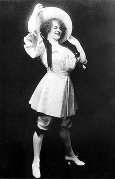 EvaTanguay, one of vaudeville's all-time greatest stars.