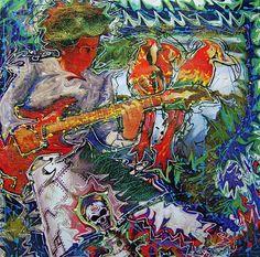 Title: Guitar accompaniment for exotic singing Date: 2007 Technique: Acrylic, print, banner Size of work: 130 x 130 cm Price: USD Artist Portfolio, Art Festival, Exotic, Singing, Banner, Guitar, Fine Art, Sculpture, Picture Banner
